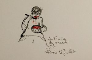Mardi 12 juillet ©Les fraises du mardi !