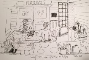11aout © la confiture de prunes