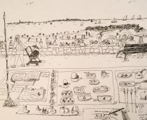 13 août © marche des créateurs Larmor -plage