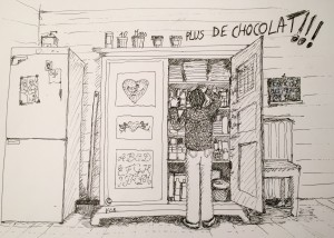 10 mars PLUS DE CHOCOLAT
