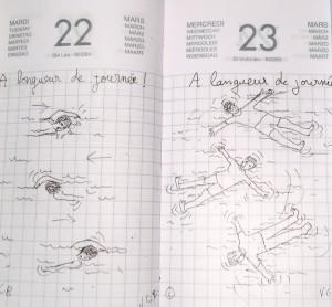22 et 23 mars © A longueur, A langueur....