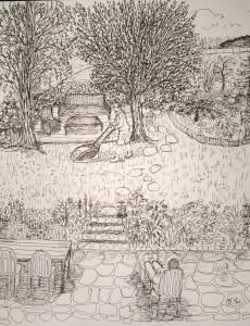 18 mai © dans le jardin