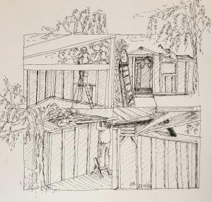 10 novembre © La cabane (suite,suite, suite...)