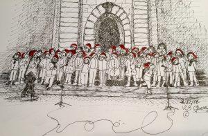 2 décembre © les bonnets rouges de Queven !